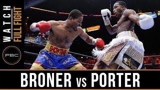 Download FULL FIGHT: Adrien Broner vs Shawn Porter - 6/20/2015 - PBC on NBC Video