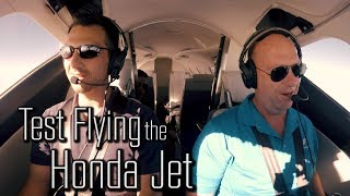 Download Test Flying the Honda Jet at Oshkosh Video