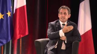 Download Nicolas Sarkozy à Troyes: un échange direct avec les Français Video