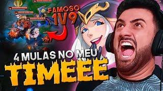 Download FINGI SER NOOB DE ASHE MAS A CAQUITA ESTACOU! *CAIU 4 MULAS NO MEU TIME* - RodiL Video
