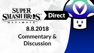 Download [Vinesauce] Vinny - Super Smash Bros. Ultimate Direct 8.8.2018: Commentary & Discussion Video