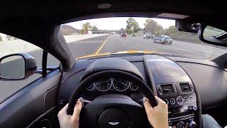 Download 2015 Aston Martin V12 Vantage S - WR TV POV City Drive Video