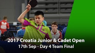 Download 2017 ITTF Croatia Junior & Cadet Open - Day 4 Team Final Video