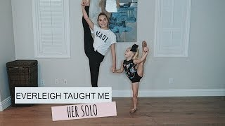Download EVERLEIGH TAUGHT ME HER SOLO! Video