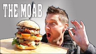 Download ** THE MOAB ** MOTHER OF ALL BURGERS!! - Perfect cheese burger Video