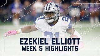 Download Ezekiel Elliott Eats Up Bengals Defense for 171 Yards & 2 TDs! | NFL Wk 5 Player Highlights Video