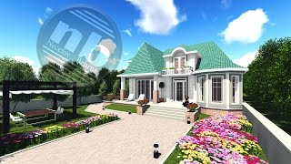 Download 2 mertebeli/Mansartli/ev proyekti- house project Video