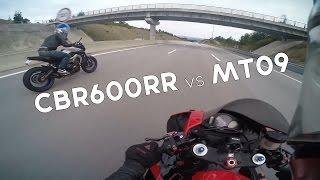 Download CBR600RR vs MT09 (ECU FLASH) - S1000RR & APRILIA TUONO Video