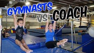 Download Gymnasts vs Coach - Gymnastics Competition| Rachel Marie Video