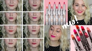 Download NEW Benefit They're Real! Lipstick & Liner In One Swatches & Review | Meg Says Video