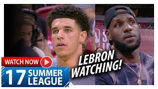 Download Lonzo Ball UNREAL Highlights vs 76ers (2017.07.12) Summer League - 36 Pts, 11 Ast, 8 Reb, EPIC! Video