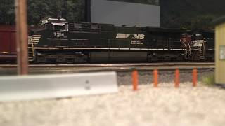 Download Norfolk Southern Wood Chip Train - HO Scale Video