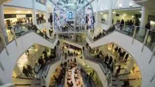 Download Christmas Shopping Mall Timelapse Video