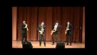 Download Bohemian Rhapsody - Saxophone Quartet Video