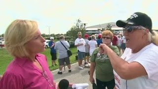Download Trump supporter verbally attacks CNN reporter Video
