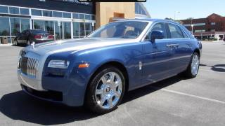 Download 2011 Rolls Royce Ghost Start Up, Exhaust, and In Depth Tour Video