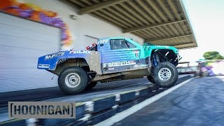 Download [HOONIGAN] DT 110: 500HP Truck 180s Off the Dock (Brenthel Bros) Video