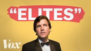 Download Why Tucker Carlson pretends to hate elites Video