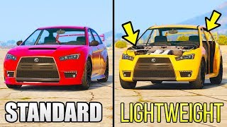 Download GTA 5 - Does Extra Weight Make Your Car Slower? (GTA 5 Online) Video