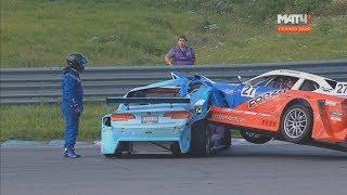 Download Mitjet 2L Russian Series 2017. Race 2 KazanRing. Start Crash Video