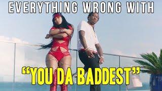 Download Everything Wrong With Future - ″You Da Baddest (ft. Nicki Minaj)″ Video