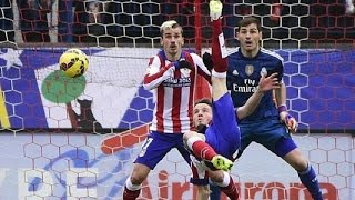 Download Atlético de Madrid 4-0 Real Madrid | Goles | COPE | 07/02/2015 Video