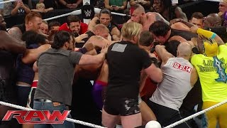 Download Unseen footage of the brawl between Undertaker and Brock Lesnar: WWE Exclusive, July 25, 2015 Video