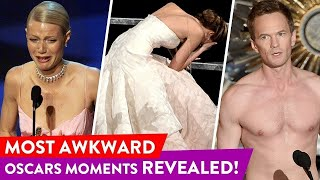 Download Oscars Cringiest Moments Of All Times | ⭐OSSA Video