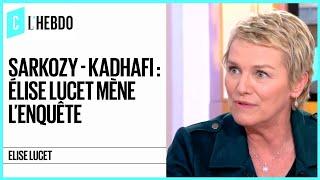 Download Sarkozy-Kadhafi : Elise Lucet a mené l'enquête pour ″Cash Investigation″ - C l'hebdo - 19/05/2018 Video