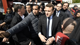 Download France Presidential Election: Macron, Le Pen visit closed Whirlpool factory Video