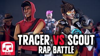 Download TRACER VS SCOUT Rap Battle by JT Music (Animated Version) Video