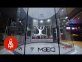 Download This Indoor Skydiver Dances on Air Video