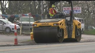 Download Mahoning Co. engineer warns drivers to be careful as paving picks up Video