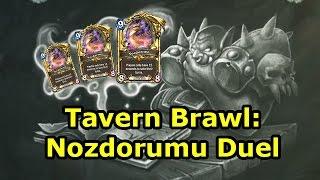 Download Hearthstone Tavern Brawl: Nozdorumu Duel (Spellbook Duel) Video