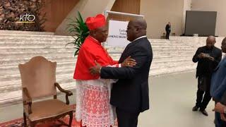 Download Vivre le consistoire avec le cardinal Ambongo Besungu Video