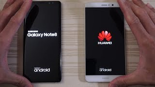 Download Galaxy Note 8 vs Huawei Mate 9 - Speed Test! (4K) Video