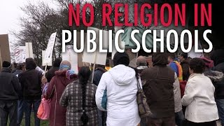 Download Parents protest Islamic prayer in public school Video