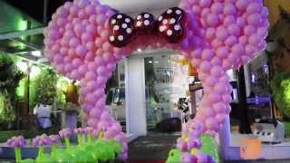 Download Arco da Minnie de Balões Video