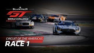 Download RACE 1 - COTA - Blancpain GT World Challenge America - LIVE Video