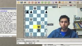 Download WHAT'S HE THREATENING?   Blitz Chess #103 : Tal vs. GermanSevorin (Semi-Tarrasch)- ICC 5-minute pool Video