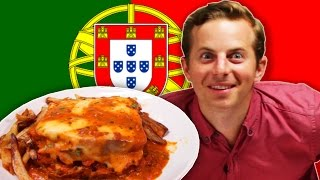 Download People Try Portuguese Food For The First Time Video