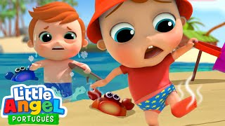 Download Está Quente ou Frio na Praia, Joãozinho? 🥵   🥶 Canal do Joãozinho - Little Angel Português Video
