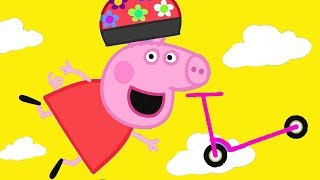 Download Peppa Pig Official Channel | Peppa Pig Loves Scooter Video