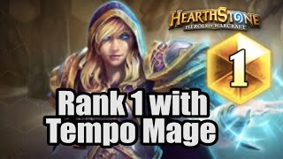 Download [ Hearthstone ] Rank 1 Mid-November with Tempo Mage ! Video