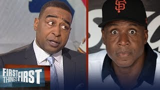 Download Cris Carter explains why Barry Bonds and Roger Clemens do not belong in the HOF | FIRST THINGS FIRST Video