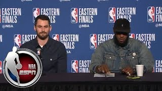 Download [FULL] Kevin Love jokes about his pass to LeBron James | NBA on ESPN Video