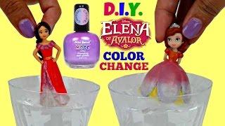 Download D.I.Y. Princess ELENA of AVALOR vs Sofia the First Color Change Kids Craft Video