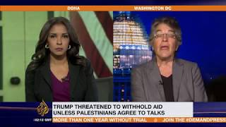 Download Trump Threatens to Stop Aid to Palestinians, Phyllis Bennis responds Video