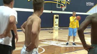 Download Marquette basketball holds walk-on tryouts Video