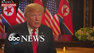 Download President Trump opens up about historic summit (FULL EXCLUSIVE INTERVIEW with George Stephanopoulos) Video